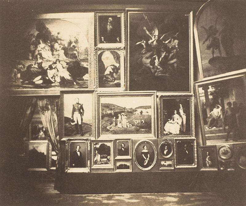 Le Gray Gustave, Salon de 1852, Grand Salon, mur nord, © Musée d'Orsay, Dist. RMN-Grand Palais / Alexis Brandt, Service presse Musée d'Orsay