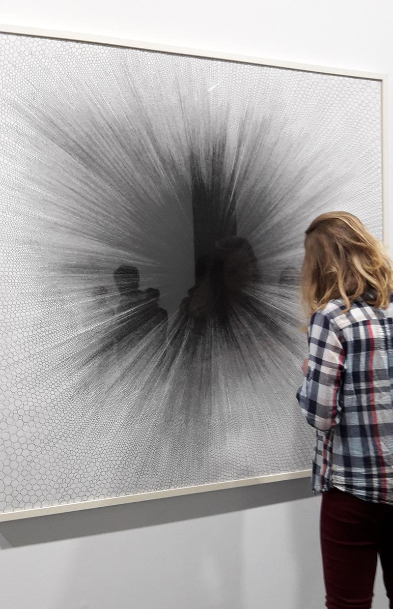 Photo Pascaline Peretti, exposition Jérôme Zonder à la Maison Rouge