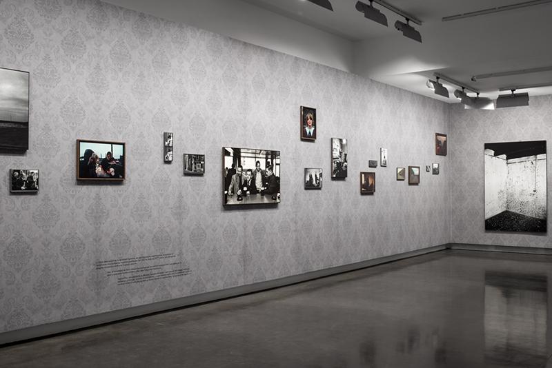 Vue de l'exposition Stéphane Duroy au Bal, copyright Anne Pichon - Le Bal