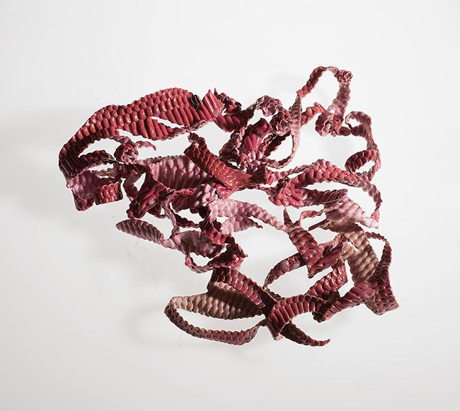 Sheila Concari, Pink Medusa, courtesy Galerie Dix9 Hélène Lacharmoise