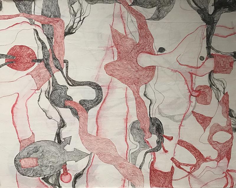 Sheila Concari, Old Soul, courtesy Galerie Dix9 Hélène Lacharmoise