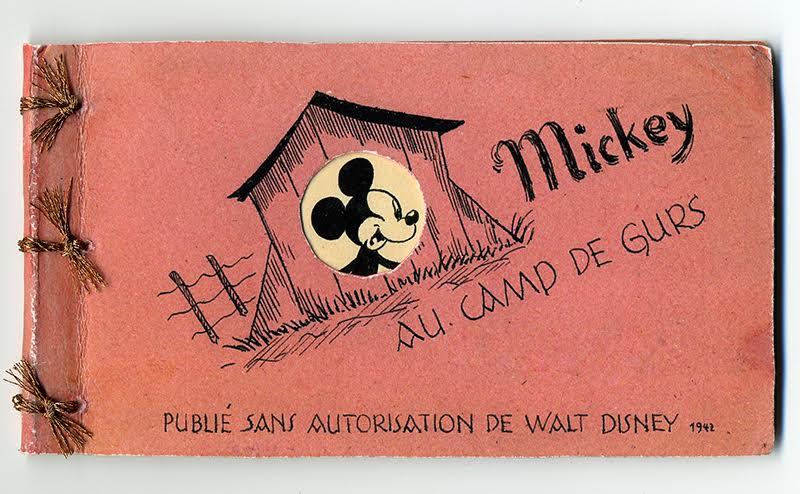Mickey au camp de Gurs, d'Horst Rosenthal (auteur), 1942, collection du Mémorial de la Shoah