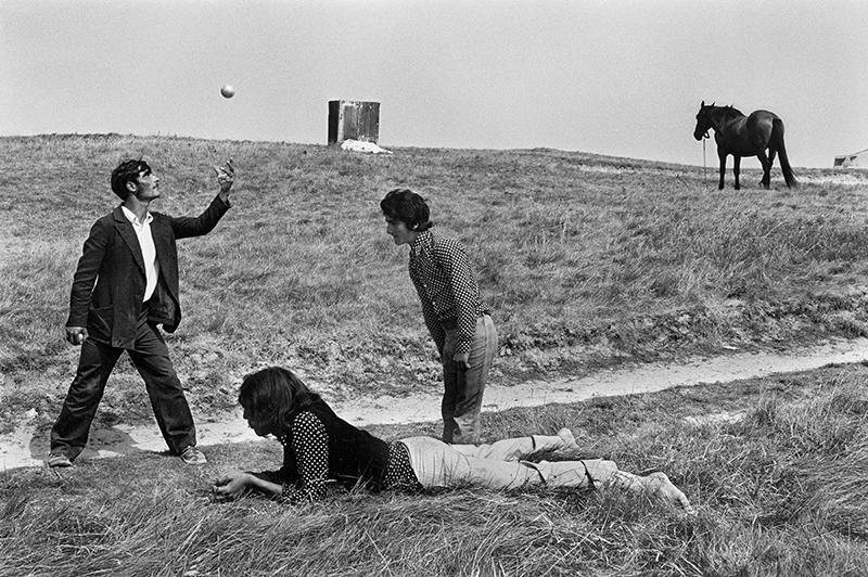 Josef Koudelka, France, 1973 © Josef Koudelka / Magnum Photos © Centre Pompidou / Dist. RMN-GP